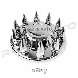05-11 Dodge RAM Truck Chrome 19.5 Front+Rear Wheel Center Hub Cap 10 Lug Axle