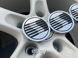 05-2011 Saleen Chrome Wheel Center Cap Set Nos Ford S281 S302 Mustang S331 Truck