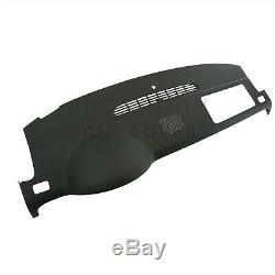 07-14 Denali Silverado LTZ Dash Cover Cap Skin withSpeaker Holes in Ebony Black