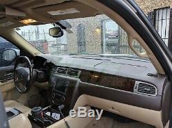 07-14 Yukon Silverado LTZ Molded Dash Cover Skin Titanium Gray withSpeaker Holes