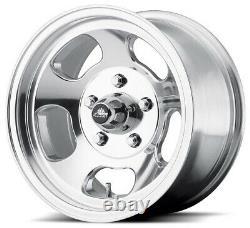 15 Ansen Sprint Wheels Rims Polished C-10 C10 5x5 5x127 Polished Aluminum