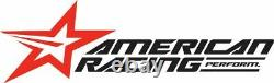 15 STAGGERED AMERICAN RACING WHEELS RIMS THRUST II 5X4.75 5x120.65 15X7 15X8