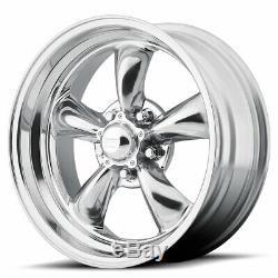 17 Aluminum Staggered Wheels Rims Torq Thrust II 5x4.5 5x114.3 American Cragar