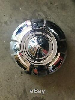 1957- 59 Chevy Apache 1/2 Ton Truck Chrome Dog Dish Hub Cap Hubcap Cover