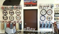 1960 -1969 Chevy C10 Pick Up Truck 15 Steering Wheel, Chevy Horn Cap + Boss Kit