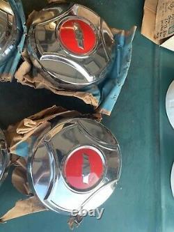 1966 Chevy'NOS' Dog HUBCAPS Truck Pickup 1/2 Ton Ton Caps Chevrolet dog dish
