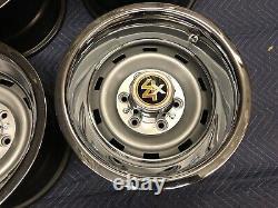 1967-72-87chevy Gmc Truck 4x4 6 Lug 15x10 Gm Original Truck Rally, New Cap&rings