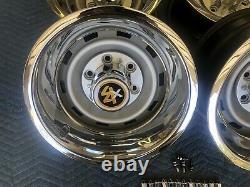 1967-72-87chevy Gmc Truck 4x4 6 Lug 15x8 Gm Original Truck Rallys, New Rings Caps