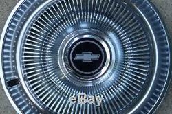1971-75 Chevy Impala, truck 15 wheel covers, set 4, NOS! 993917 hub caps