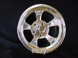 1 15 X 7 rons rims HOT ROD, SQUARE BODY GM 5 ON 5 BP GMC CHEVY TRUCK/CAPS