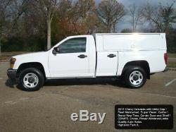 2011 Chevrolet Colorado WithT UTILITY SERVICE TRUCK