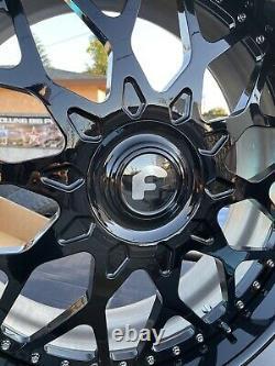 26x10 FORGIATO TORINO XL FLOATING CAP GLOSS 6X5.5 TRUCK SUV CADILLAC TAHOE DEALS