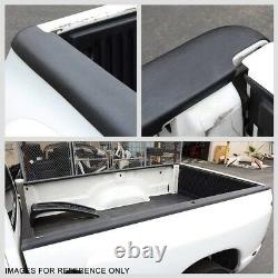 2PCS Truck Bed Cap Molding Rail Protector Cover For 80-96 Ford F-150 8Ft Bed