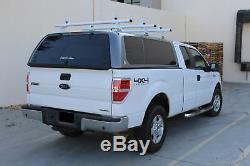 3 Bar 60'' Aluminum Pickup Topper Truck Cap Camper Shell Van Roof Ladder Racks