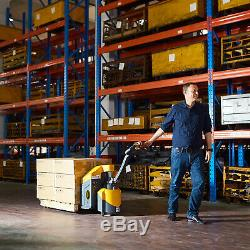 48 x27 Full Electric Pallet Jack Truck 3300lbs Cap. Brushless motor