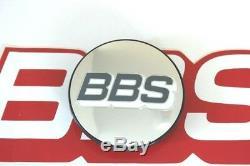 4 BBS POLISHED GRAY BBS LOGO 70mm 4 TAB CENTER CAPS FOR TOYOTA TRUCKS 09.24.486
