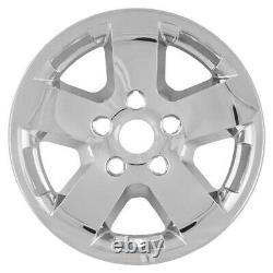 4 CHROME 17 Wheel Skins Hub Caps Full Rim Covers for 2009-2012 Dodge Ram 1500 T