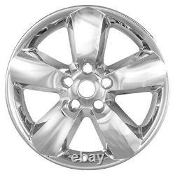 4 CHROME 20 Wheel Skins Hub Caps 5 Spoke for Dodge Ram 1500 Truck Alloy Rim