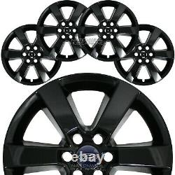 4 fit Ford F150 2015-2017 Black 20 Wheel Skins Full Alloy Rim Covers Hub Caps