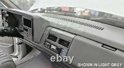 88-94 C/K 1500 Truck Suburban Yukon Blazer Molded DashSkin Dash Overlay Cap Red