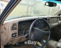 97-2000 Tahoe Yukon Suburban Molded Dash Cover Skin Cap Overlay Tan Brown