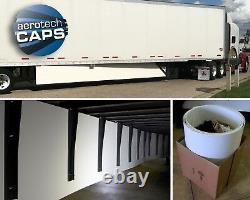 Aerodynamic Trailer Skirt (Set of 2) for Semi-Truck SAVE FUEL! By AeroTech Caps