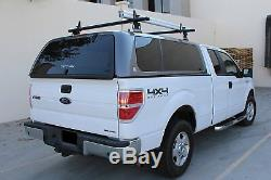 Aluminum 2 Bar 60'' Universal Truck Cap Topper Camper Shell Ladder Van Roof Rack