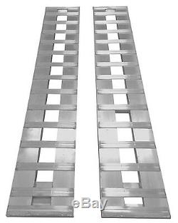 Aluminum Trailer Ramps Truck Trailer Car Ramps 84 L 1-Set two ramps =6800lb Cap