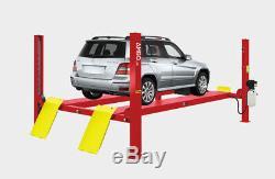 Amgo Pro-10 Commercial 4 Post Heavy Duty Car/truck/auto Lift 10000 Lb. Cap