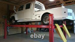Amgo Pro- 18a 4 Post Commercial Truck Alignment Rack Lift 18,000 Lb. Cap