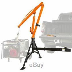 Apex HMC-1000 Hydraulic Hitch-Mount Pickup Truck Jib Crane 1,000 lb Cap