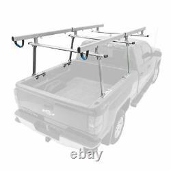 Apex UPUT-RACK-ALUM-V2 Universal Aluminum Over-Cab Truck Rack 800-lb Cap