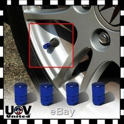 Auto Metal Wheel Air Vale Stem Caps Car Truck Bike Tire Rim Dust Cover Screw U1