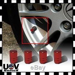 Car Truck Bike Auto Wheel Air Vale Stem Caps Tire Rim Dust Cover Metal Screw U1