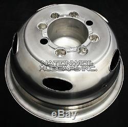 Chevy 3500 17 8 Lug Dually Wheel Simulators Dual Rim Deep Dish Covers Hub Caps