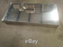 Crescent Jobox 1402980 2 Drawer 75 Lb Cap Silver Truck or Van Door Storage Tray