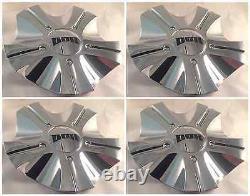 DUB Esinem Custom Wheel Center Caps 8080-35 Chrome 20-26 SUV/TRUCK SET OF 4