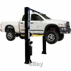 Dannmar 2-Post Symmetric Wide Truck and Car Lift- 10,000Lb Cap Brigadier 10CX