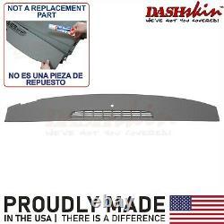 Dark Titanium Dash Skin Cover Cap Overlay 07 08 09 10 11 12 13 14 Silverado