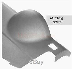 DashSkin Molded Plastic Dash Cover Cap Skin Overlay 07-14 Suburban Titanium Grey
