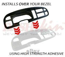 Dash Cover Cap Skin Mist Gray Medium Grey + Bezel Cover 99 00 01 Dodge Ram