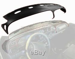 Dash Cover Dodge Ram 98 99 00 01 Molded Dashboard Overlay Skin Cap Black