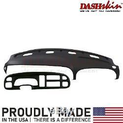 Dash Cover Dodge Ram Skin Cap & Bezel Overlay 99 00 01 (Black)