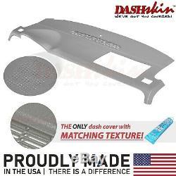 Denali Tahoe 07 08 09 10 11 12 13 14 Dash Cover Skin Cap (withDash Spkr) Titanium