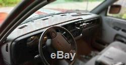 Dodge Ram 94 95 96 97 Molded Dash Skin Cover Cap Overlay Medium Driftwood Tan F6