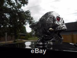 Flying Skull Radiator Cap/hood Ornament Hot-mack-rat-rod Truck/semi Bulldog