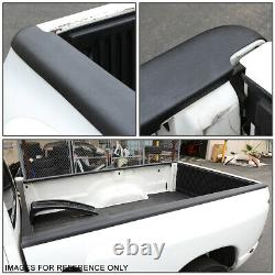 For 07-14 Chevy Silverado 8ft Fleetside Pair Truck Bed Side Rail Molding Caps