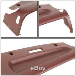 For 94-97 Dodge Ram Truck 1500 2500 3500 Dash Board Cap Bezel Cover Overlay Red