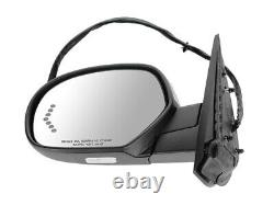 For GM Pickup 07-14 Mirror Power Folding Memory Signal PTM Cap Driver Left Side