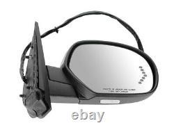 For GM Pickup 07-14 Mirror Power Folding Memory Signal PTM Cap Passenger RH Side